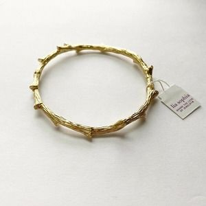 Lia Sophia NWT Branch Design Gold Tone Bangle